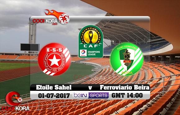 مشاهدة مباراة فيروفياريو بيرا والنجم الساحلي اليوم 1-7-2017 دوري أبطال أفريقيا