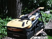 Portable Guitar Repair Workstation