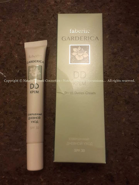 DD Cream GARDERICA by faberlic, PERSONAL PRODUCT REVIEW AND PHOTOS - NATALIE BEAUTE