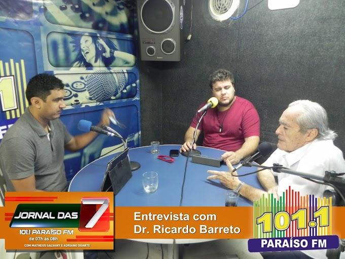 Em entrevista Dr. Ricardo fala sobre esquema dos Ferreira Gomes