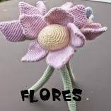 http://patronesamigurumis.blogspot.com.es/2014/12/patrones-flores-amigurumi.html
