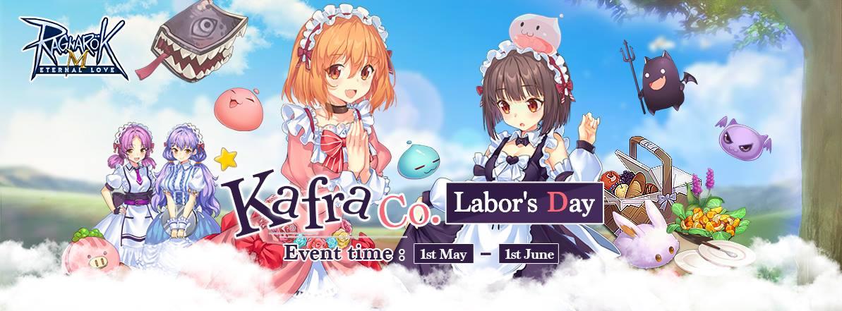 Ragnarok Mobile Guides: Kafra Co 's Labor Day