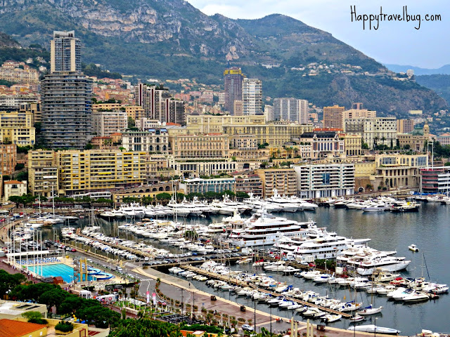 View of Monaco from the Prince's Palace