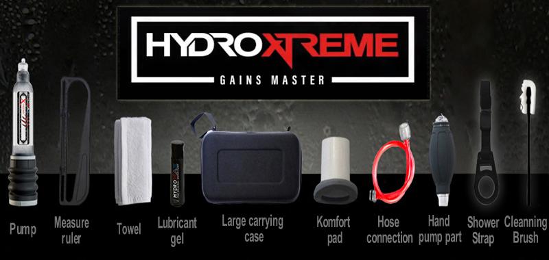 Bathmate Hydroxtreme complete set