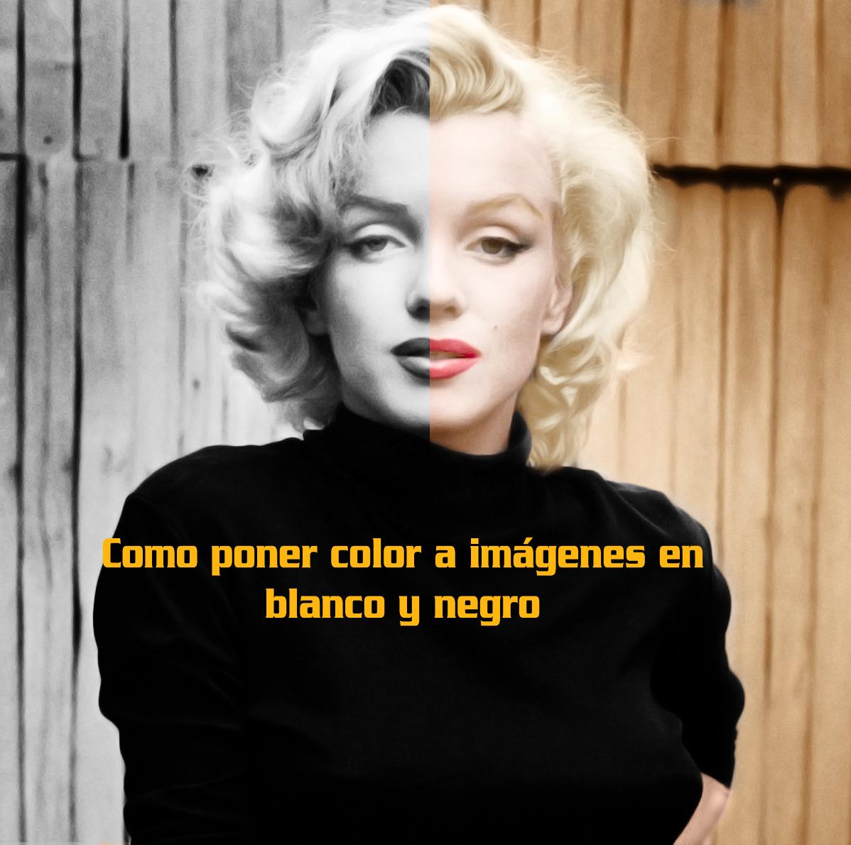 Como poner color a imágenes en blanco y negro
