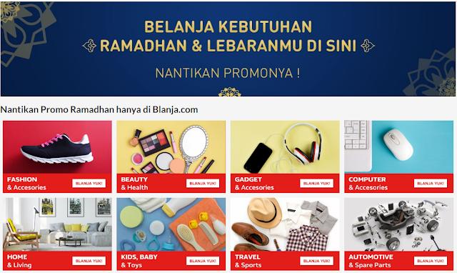 THR Untuk Konsumennya, Blanja Bagi-Bagi Voucher Ramadhan