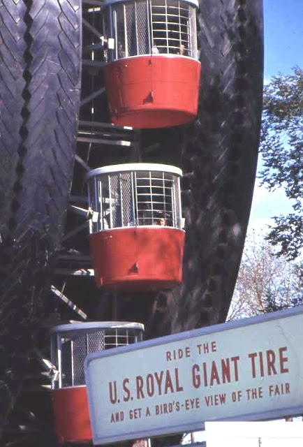 Большая Шина - Колесо обозрения на EXPO-1964 в Нью-Йорке