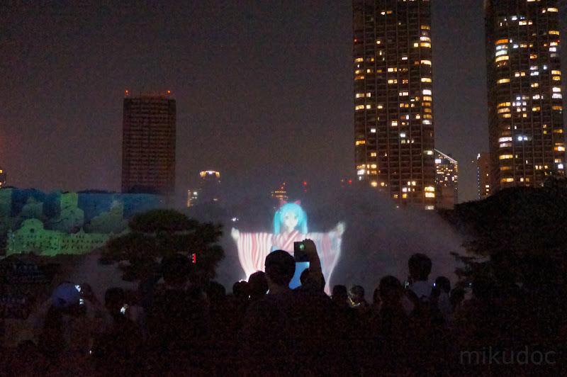 初音ミク女学生風 刻をあそぶ時空の旅 ~初音ミク Links Tokyo150~より