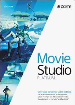 Download SONY Vegas Movie Studio Platinum v13.0 Build 955 + Ativação