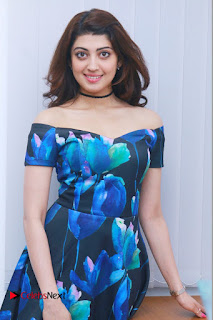 Actress Praneetha Latest Stills in Floral Short Dress at Enakku Vaaitha Adimaigal Press Meet  0009.jpg