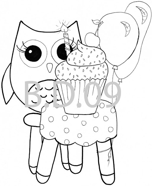 Printable Owl Coloring Pages Me