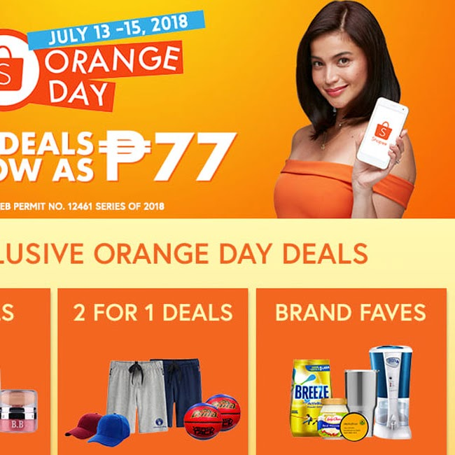 Score the Nintendo Switch at Shopee's July Orange Day Campaign