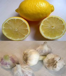 Knoblauch Zitrone Gesund