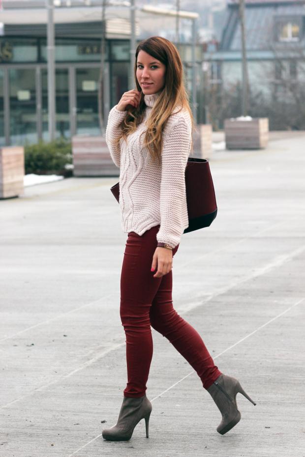 Fabulous Dressed Blogger Woman Kata From Hungary