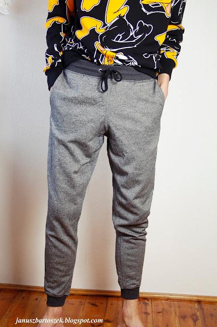 wygodne spodnie dresowe