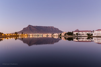 Vernon Chalmers Copyright : Table Mountain from Milnerton Cape Town Photography