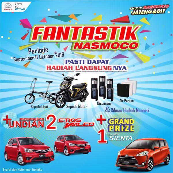 Promo Toyota Kebumen Jawa Tengah 2016