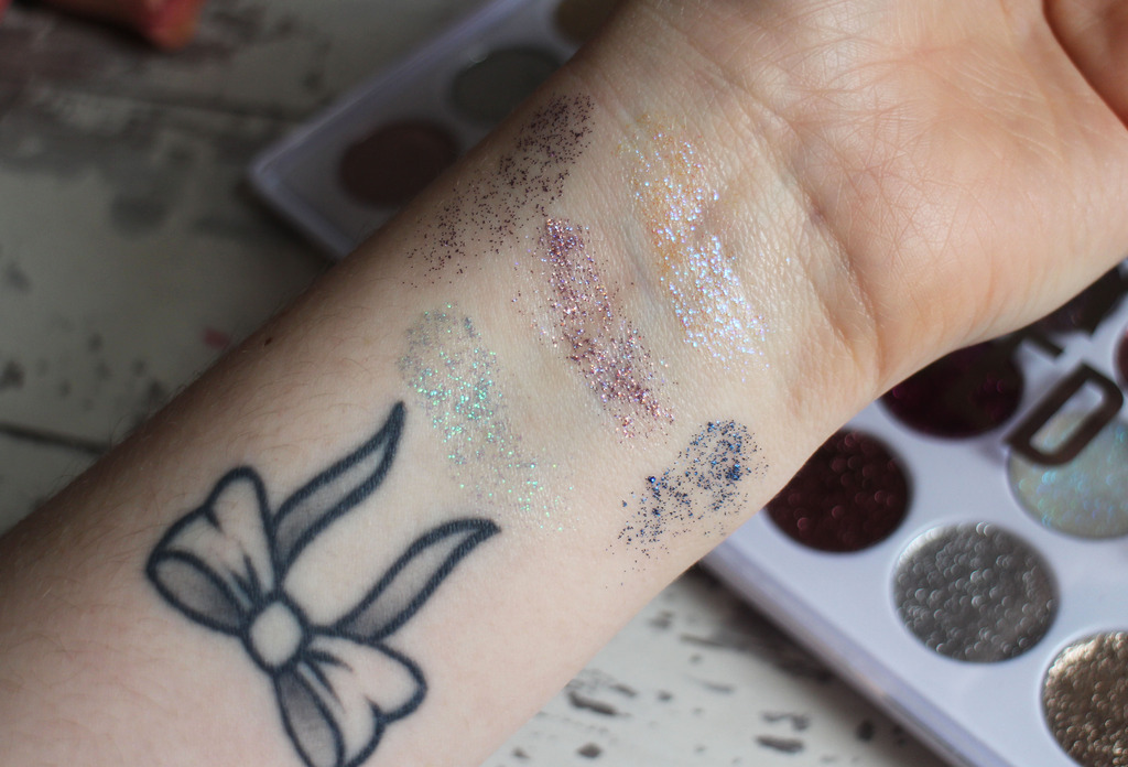 First Impressions | Primark Glitter Obsessed Glitter Eye Cream Palette