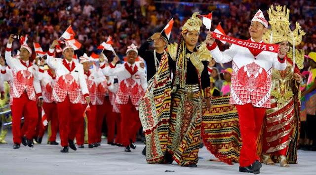 5 Kostum Terbaik Saat Parade Pembukaan Olimpiade RIO 2016, Indonesia Adalah Salah Satunya