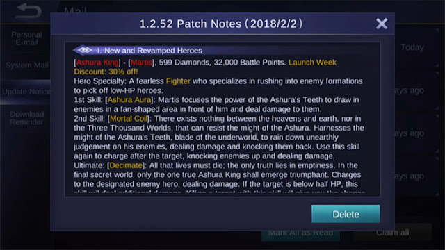 Patch Notes 1.2.52
