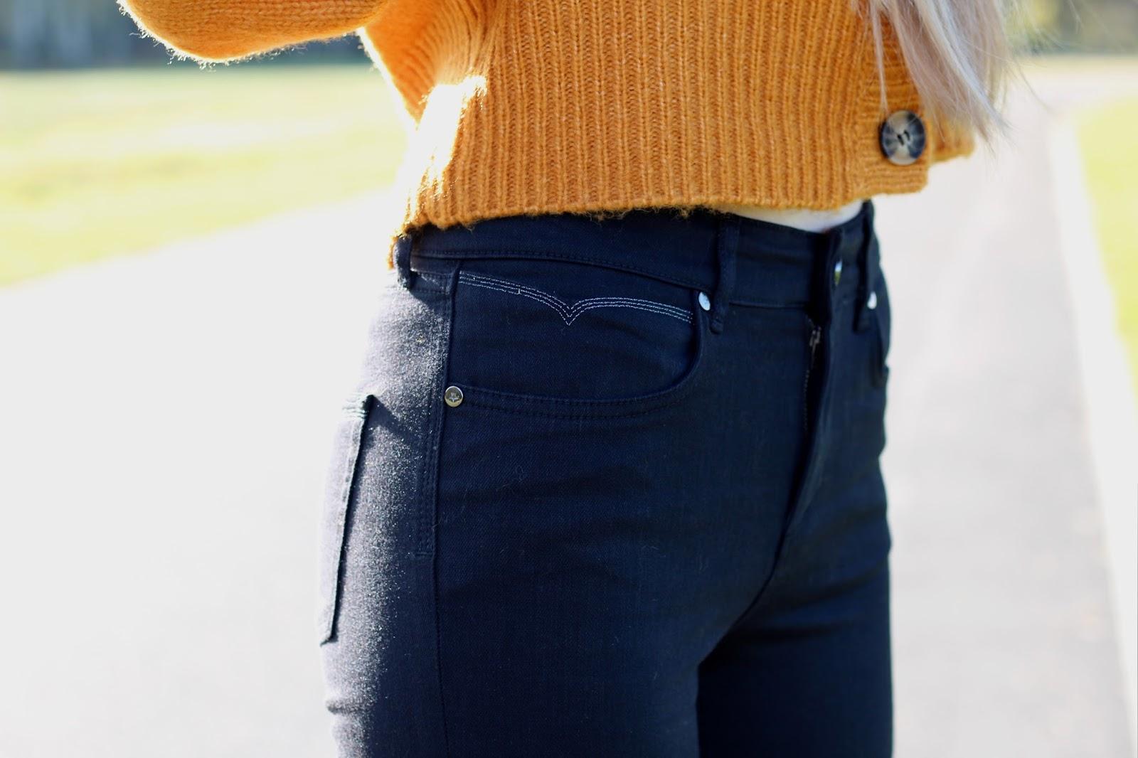 Black Liv Jeans by Donna Ida for Jaeger