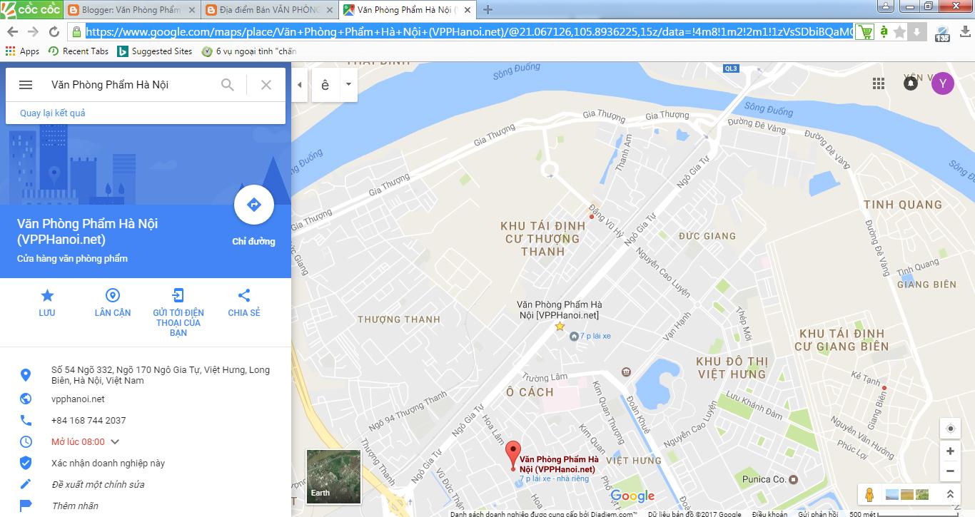 Địa Chỉ Văn Phòng Phẩm Hà Nội Tại Long Biên