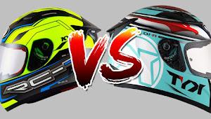 Membandingkan Perbedaan Spesifikasi KYT RC7 VS KYT R10, Lebih Bagus Mana?