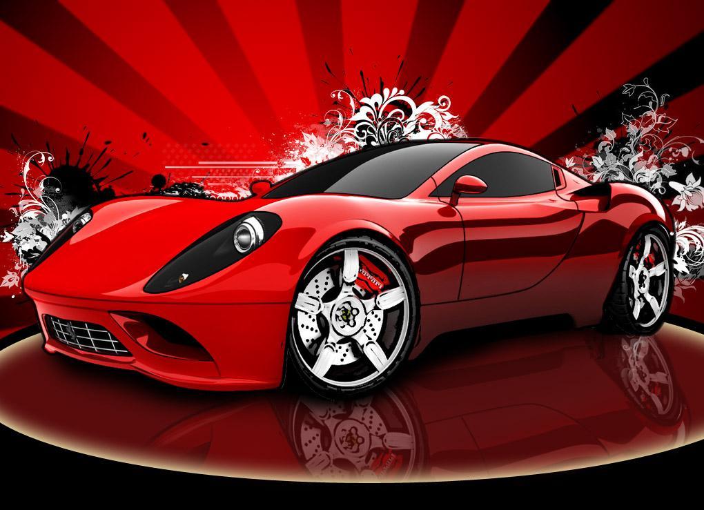 Ferrari sports cars wallpapers racing cars street - Racing cars wallpapers for mobile ...