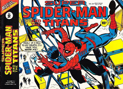 Super Spider-Man and the Titans #221, Nightcrawler