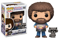 Funko Pop! Bob Ross With Raccon