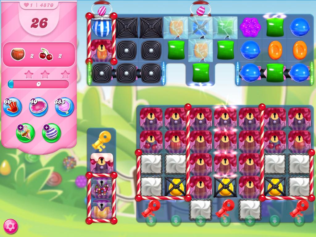 Candy Crush Saga level 4740