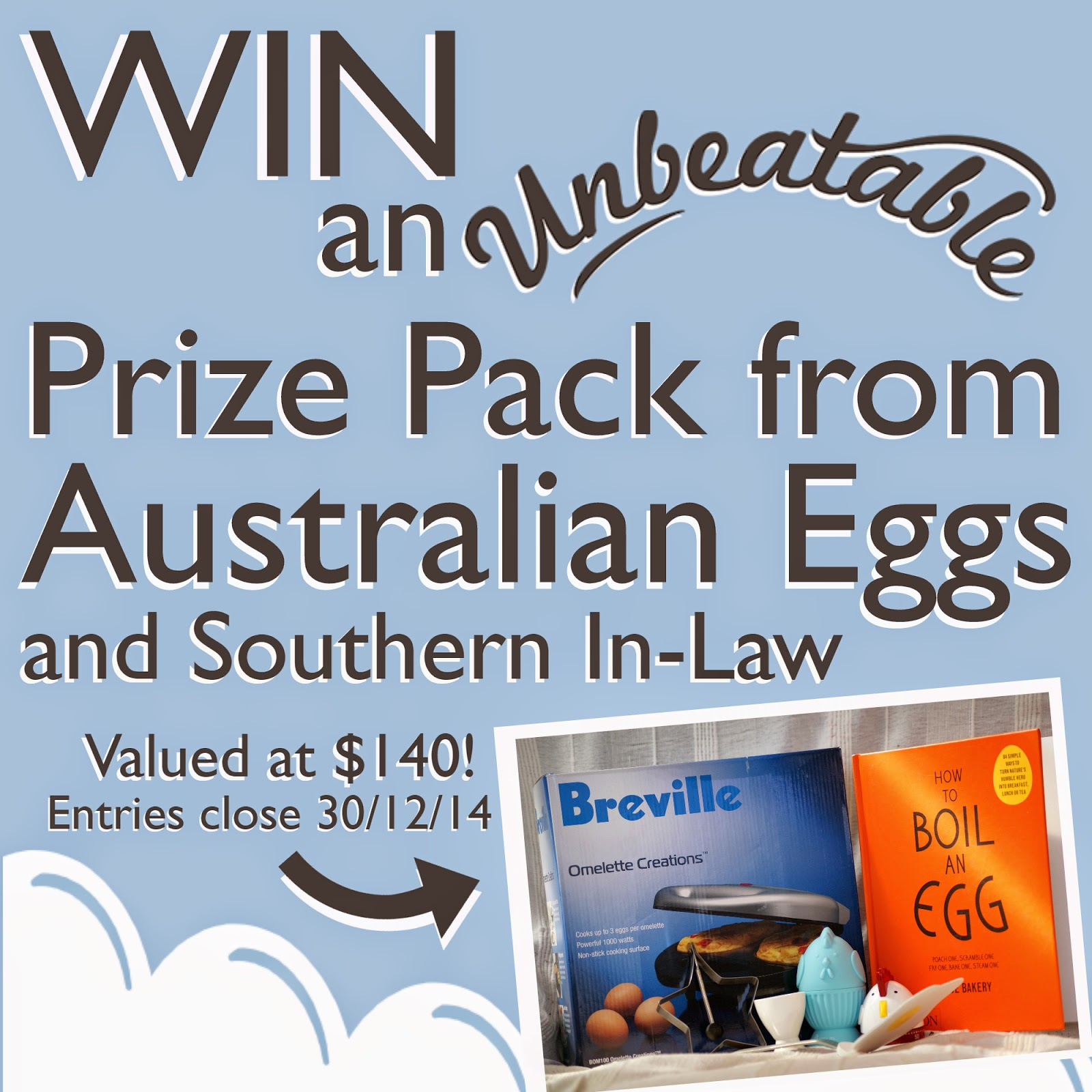 Win an Unbeatable Prize Pack from Australian Eggs