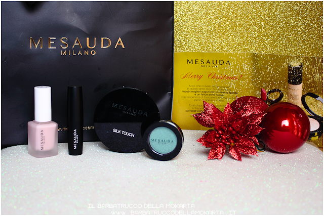 Mesauda makeup nails eyeshadow powder lipstick