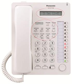 Jual Telepon Panasonic Digital KX-AT7730 Denpasar Bali