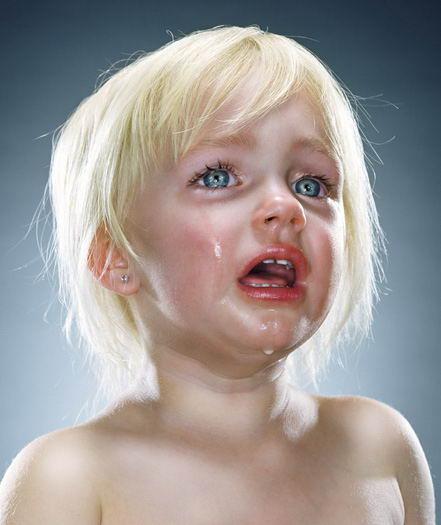 Sad Baby Girl Photo