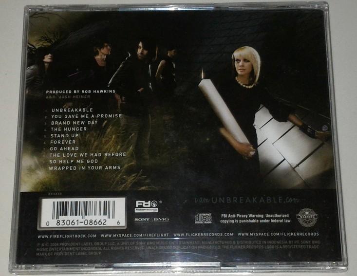 cd de fireflight unbreakable