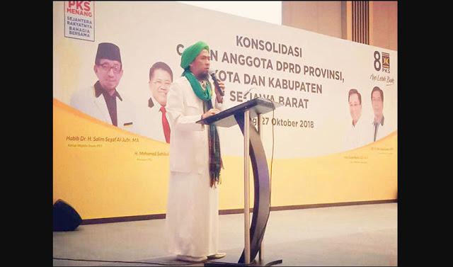 FPI Jawa Barat : Kami Siap Dukung PKS di Garis Terdepan