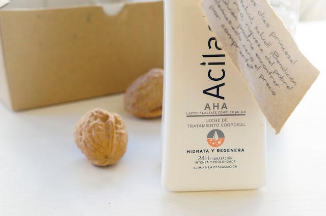Crema corporal acilac