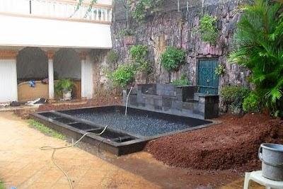 tukang taman tukang kolam minimalis kolam air mancur jasa