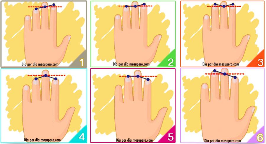 Test: ¡Elige la forma de mano! ¡La prueba de personalidad más  precisa!