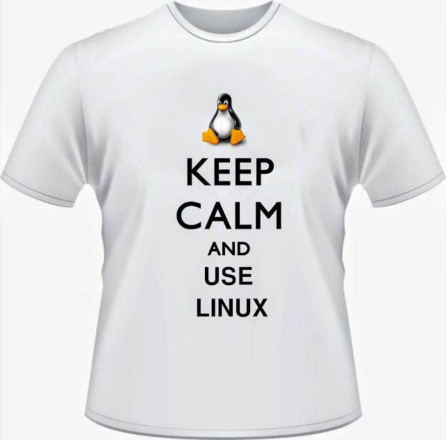 "Camiseta ""Keep Calm And Use Linux"""