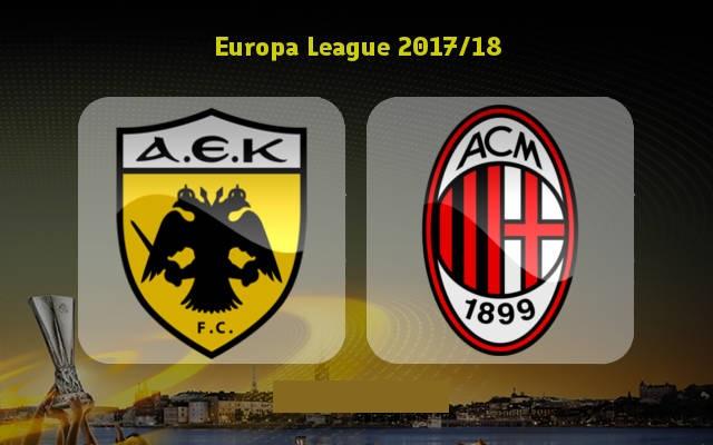AEK Athens vs AC Milan Full Match & Highlights 2 November 2017
