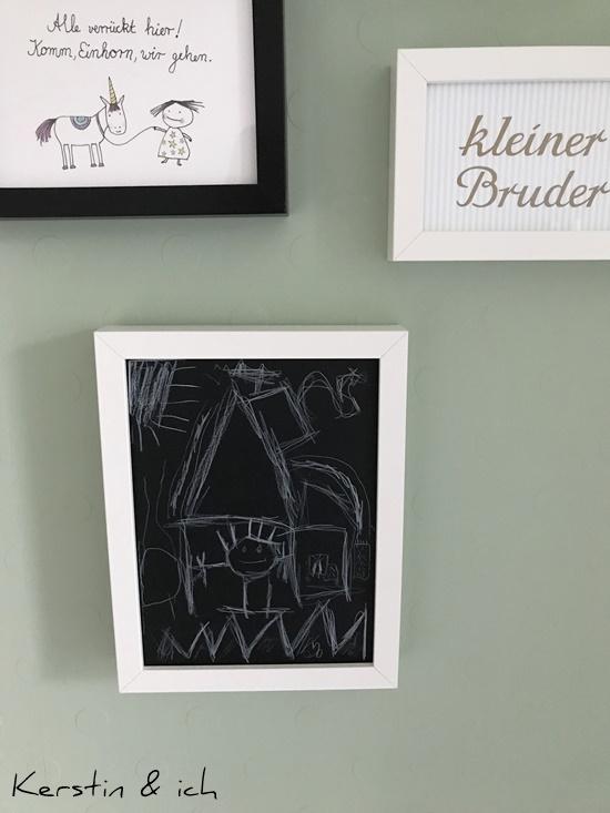 Kinderzimmer Junge DIY Tafelbild