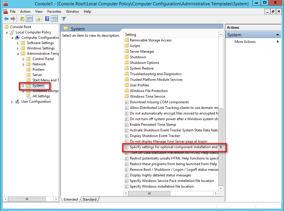 Troubleshooting SharePoint : Install Application Server Role