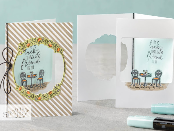 Stampin' Up! Watch It Wednesday Charming Cafe Bundle