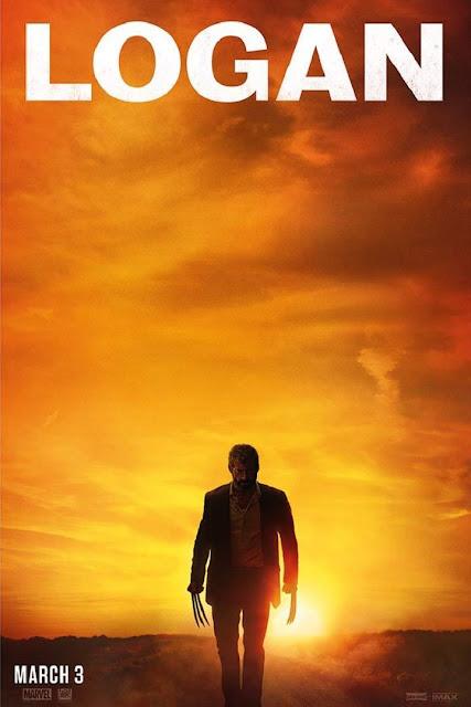 Hugh Jackman como Wolverine en el póster de Logan