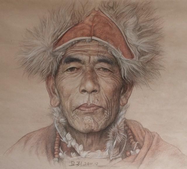 Карандашные портреты. William Wu 8