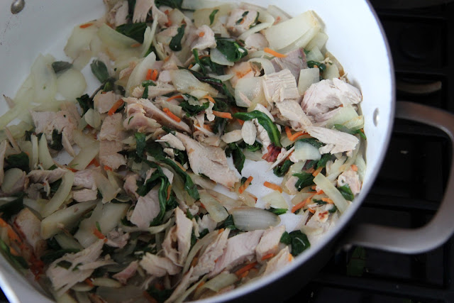 Make this easy and comforting turkey soup for when you're crunched on time or need to feel better soon!