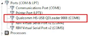 Qualcomm HS USB 9008