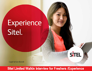 Sitel Limited Walkin Interview